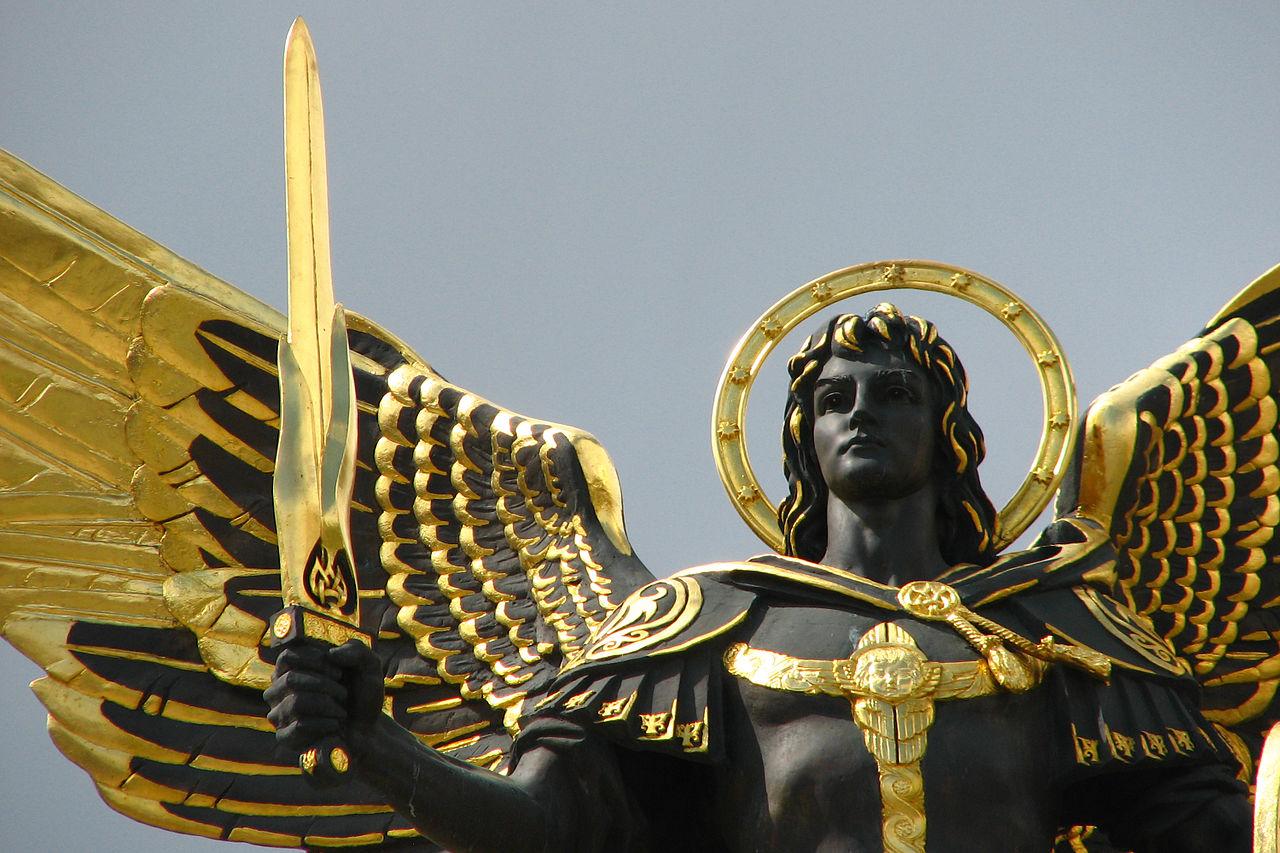 1280px-Archangel_Michael_statue_in_Kiev-_Maidan_Nezalezhnosti_square._Kiev-_Ukraine-_Eastern_Europe