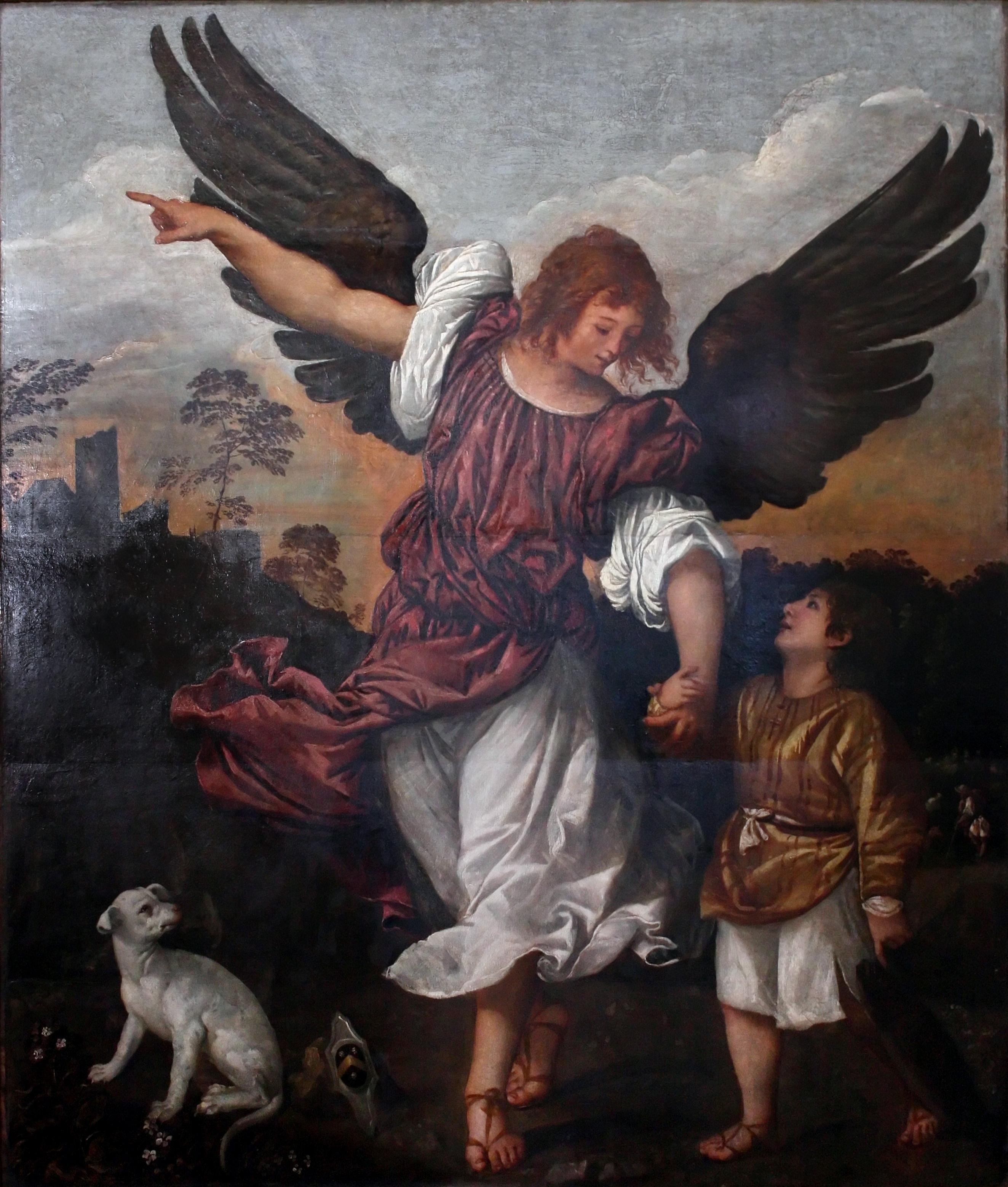 Titian_-_L-arcangelo_Raffaele_e_Tobiolo