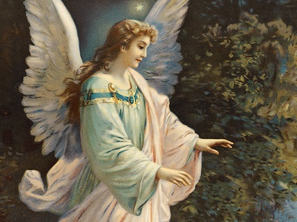 angel-vintage-woman-illustration-looking-down_credit-Shutterstock