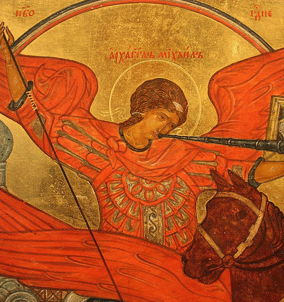 Archangel_Michael-_a_fragment_of_the_icon_Novorussky_Bogomater