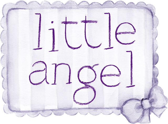 little-angel-scritta