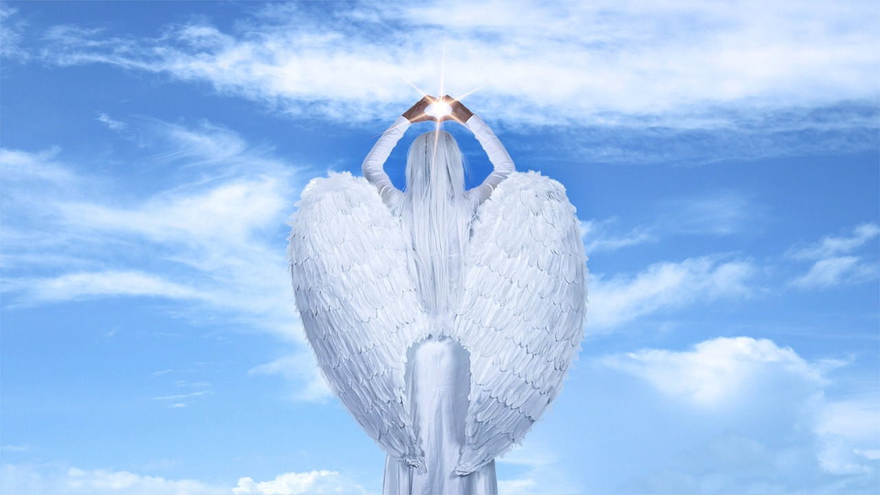 Angel-Clouds-Sky-Blue-Sky-Ray-Wings-Light-3408413