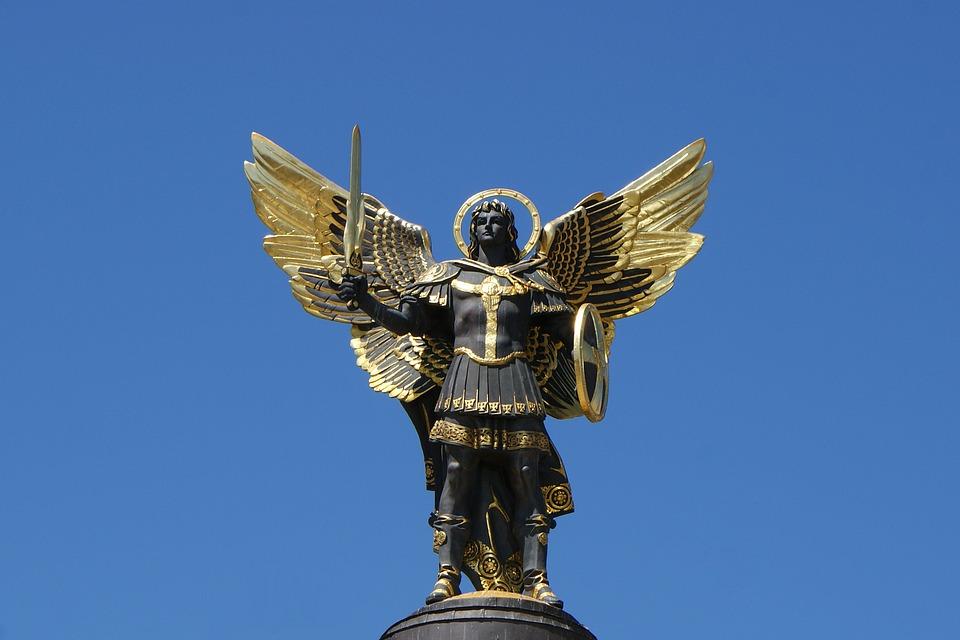 Maidan-Kyiv-Archangel-Michael-Ukraine-Kiev-Statue-608141-1