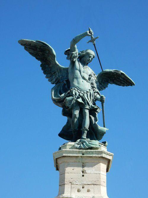 archangel-michael-statue-sword