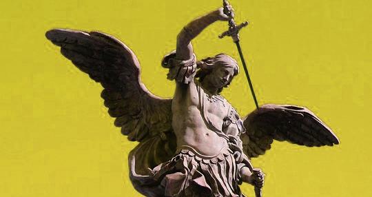 Archangel_Michael_statue