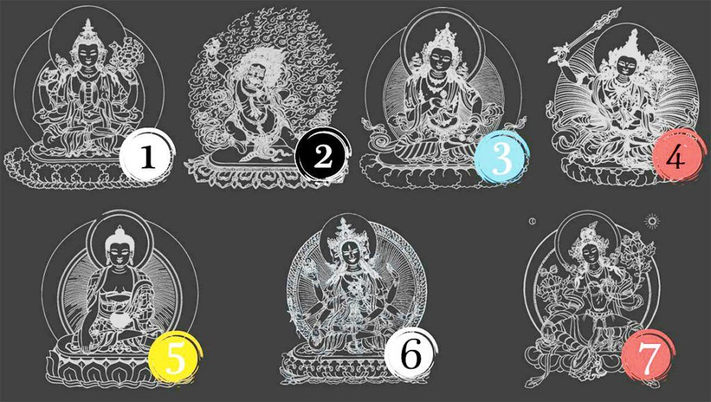 Which Buddha attracts you the most? This is What it reveals about You…
