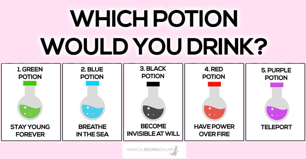 Which Potion Would You Drink?