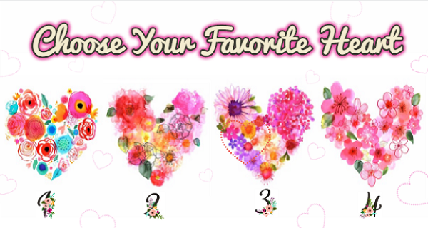 Select Your Favorite Heart (Love Test)