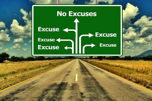 The 54 most popular excuses people use to stop themselves from living the life they want