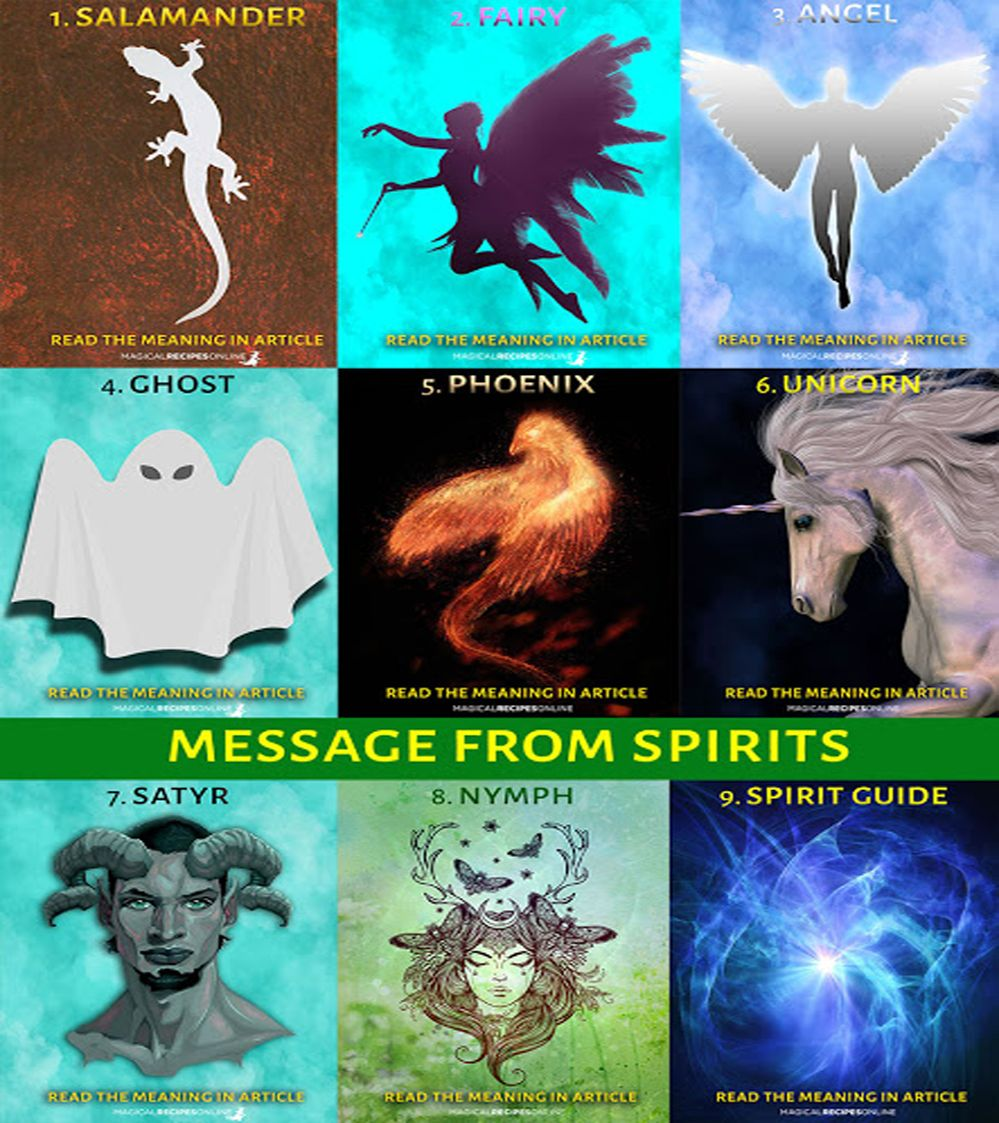 Spirit Deck: Magical messages from Spirits