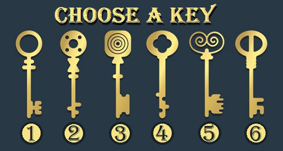 What Type Of Key Would You Open The Chest With? A Unique Test That Will Tell Something Interesting About You