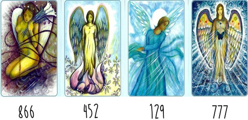 An Angelic Message. What number attracts your attention?