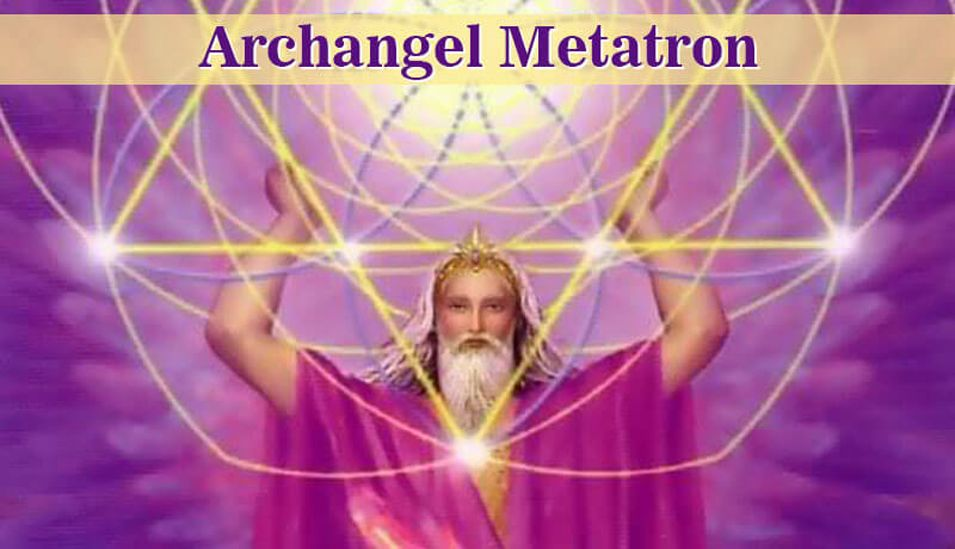 Healing with Archangel Metatron