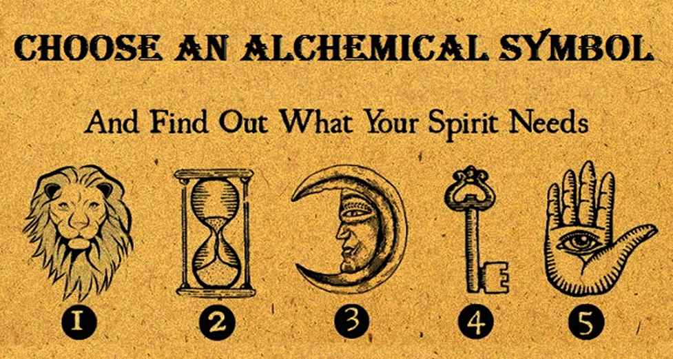 Your Favorite Alchemical Symbol Reveals What Your Soul Needs