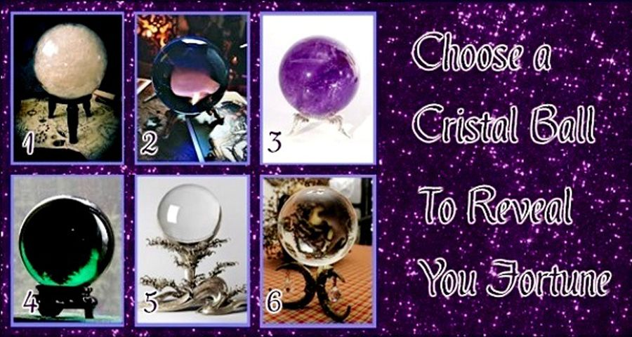 Your Favorite Crystal Ball Reveals Your Fortune!