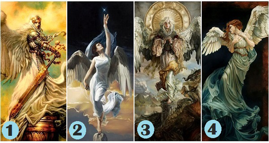 Pick An Angel For A Positive Message