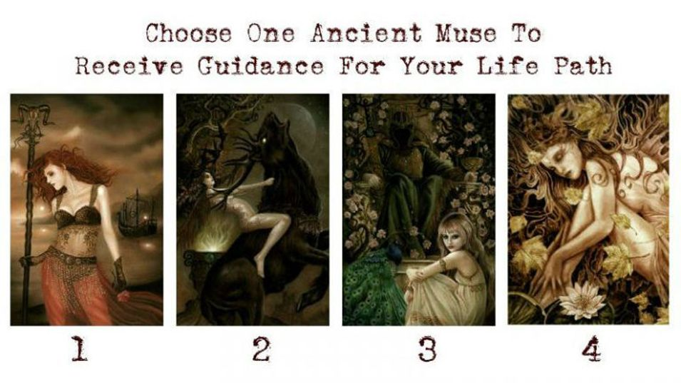Pick One Ancient Muse To Receive Guidance For Your Life Path