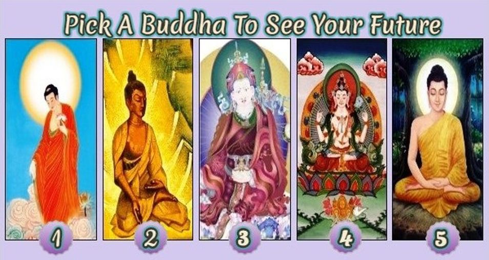 Pick A Buddha To See Your Future And Receive A Buddha Message