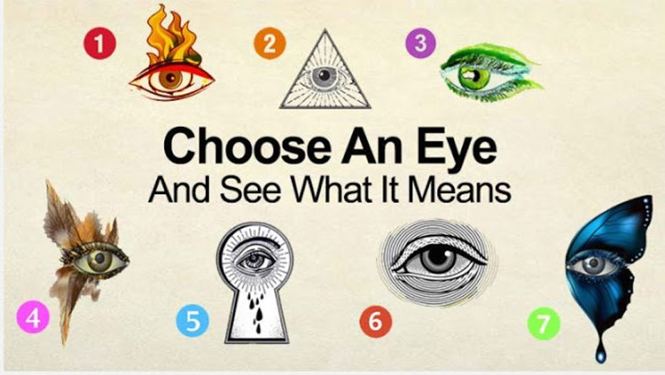 Select An Eye And See What Your Subconscious Mind Reveals About You