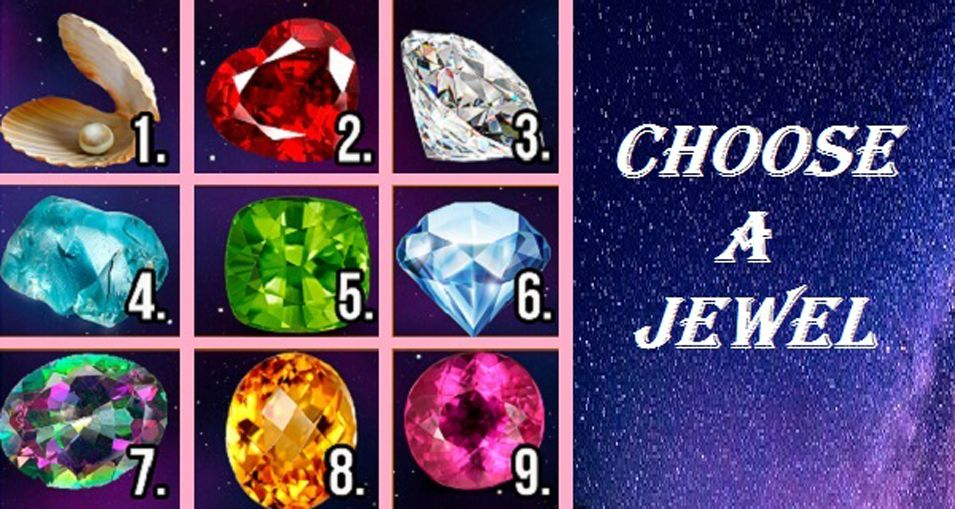 Pick A Jewel And We Will Tell You All About Your Secret Personality