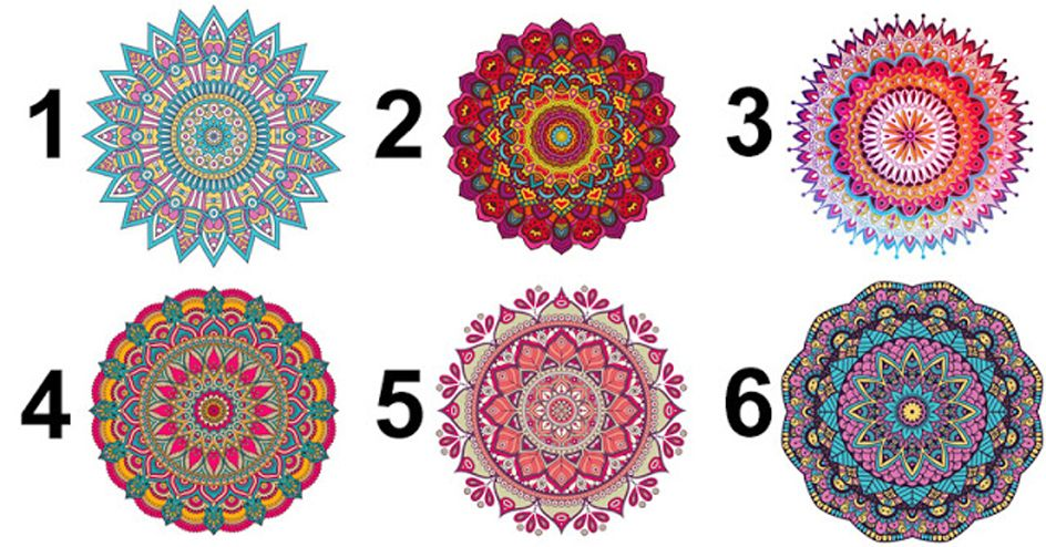 Select A Mandala and Read Its Hidden Message For YOU!