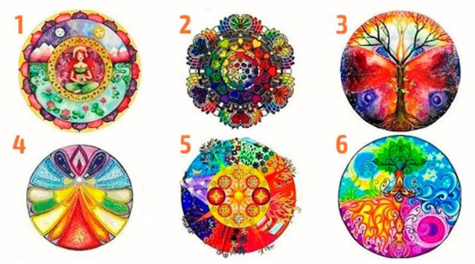 Select Your Favorite Mandala And Discover Your True Qualities