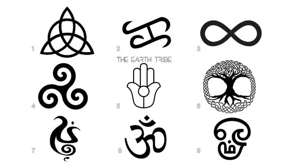 Pick a Symbol to Reveal Your Spirit Message