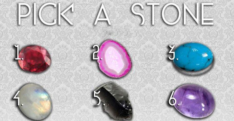 Aura Test – Pick a Magic Stone