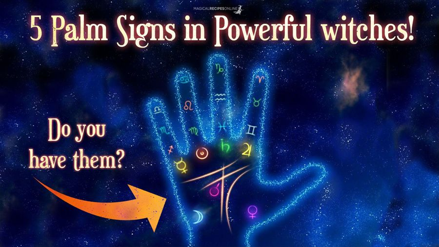 5 Palm Signs When You Are Born A Witch