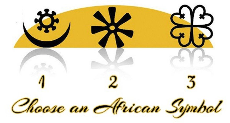Pick An African Spiritual Symbol And Discover Your Life Goal
