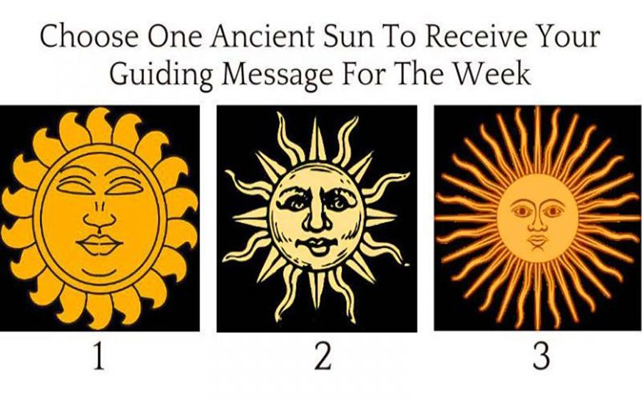 Pick An Ancient Sun To Receive Your Guiding Message For The Week