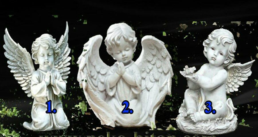 Your guardian angel is sending you an important message. Find out what's in it