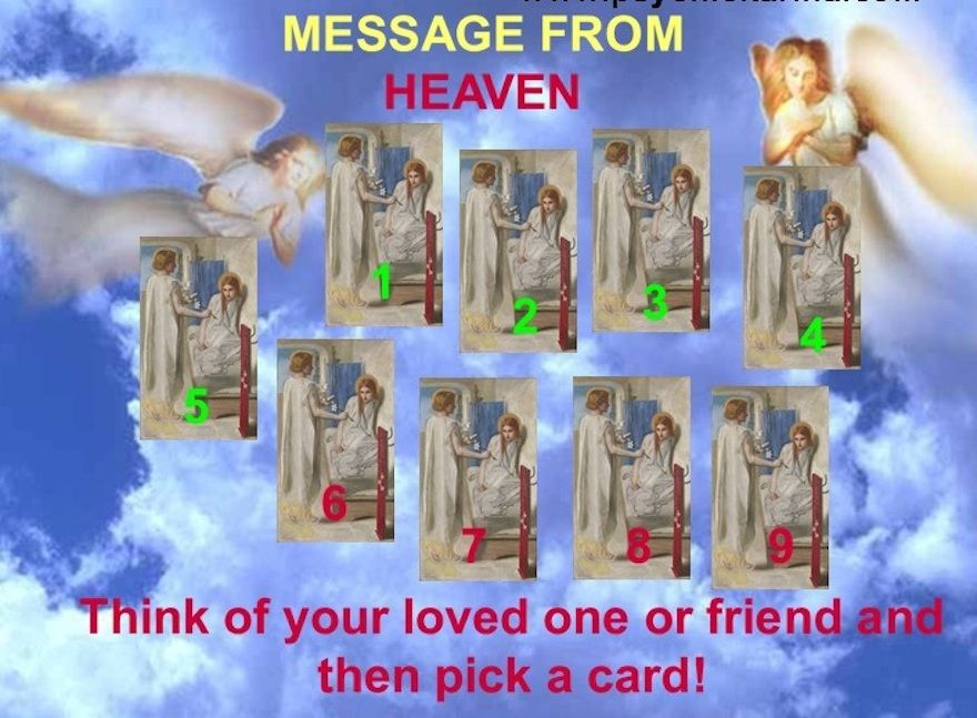 Pick A Message From Your Loved One In Heaven