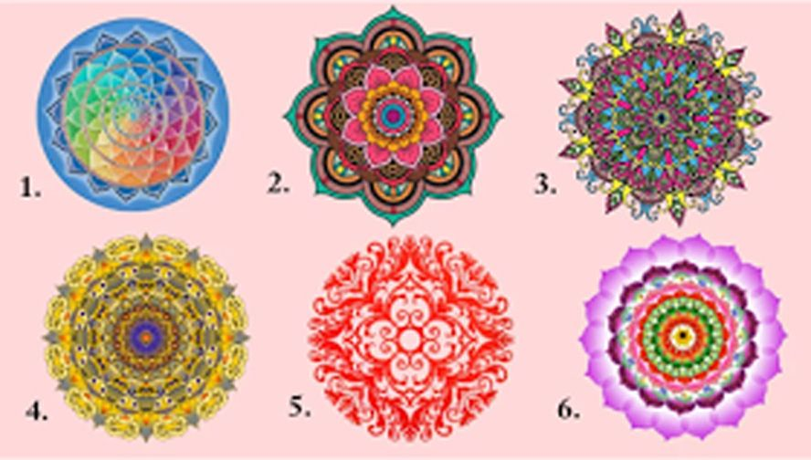 Select One Of These Mandalas And See What It Reveals About You