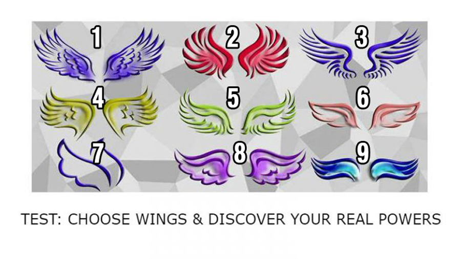 Pick Your Favorite Wings And Find Out Your Real Powers