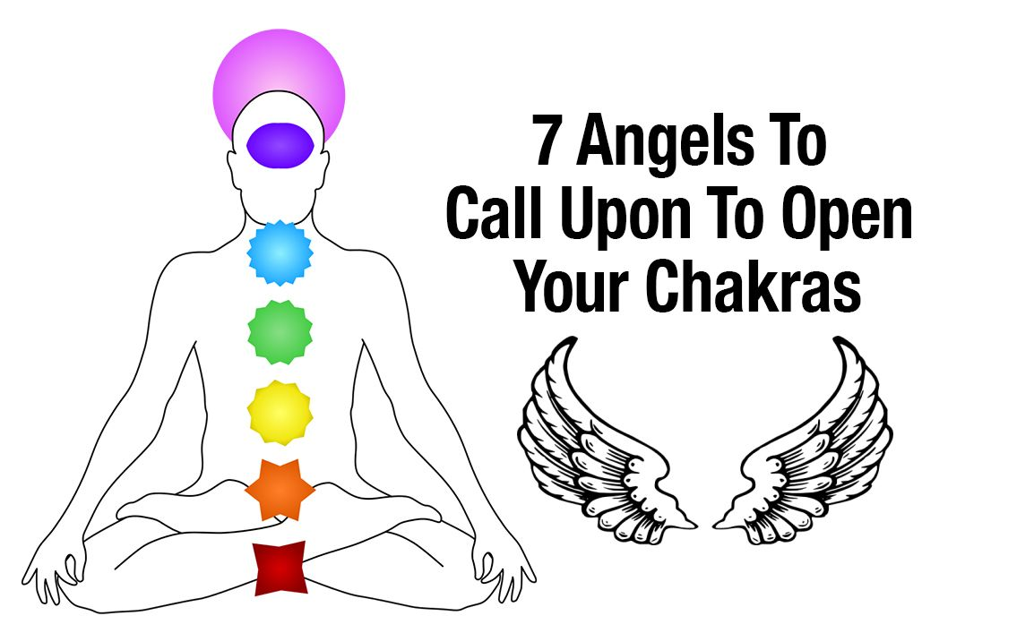 7 Angels To Call Upon To Open Your Chakras
