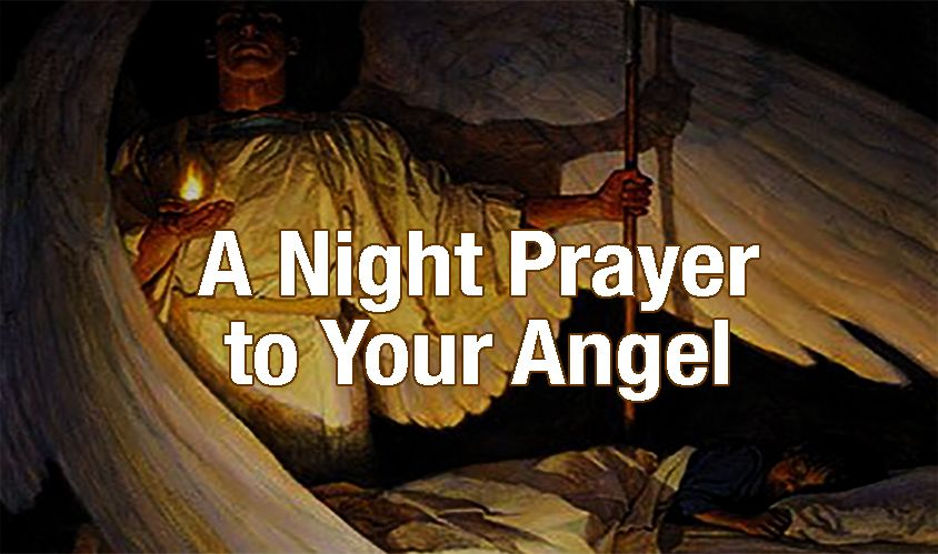 A Night Prayer to Your Angel