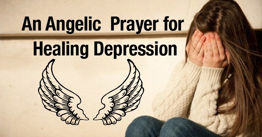 An Angelic  Prayer for Healing Depression