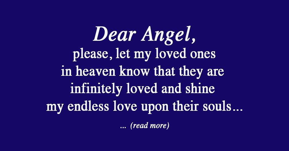 An Angelic Prayer to Connect with Your Loved Ones in Heaven