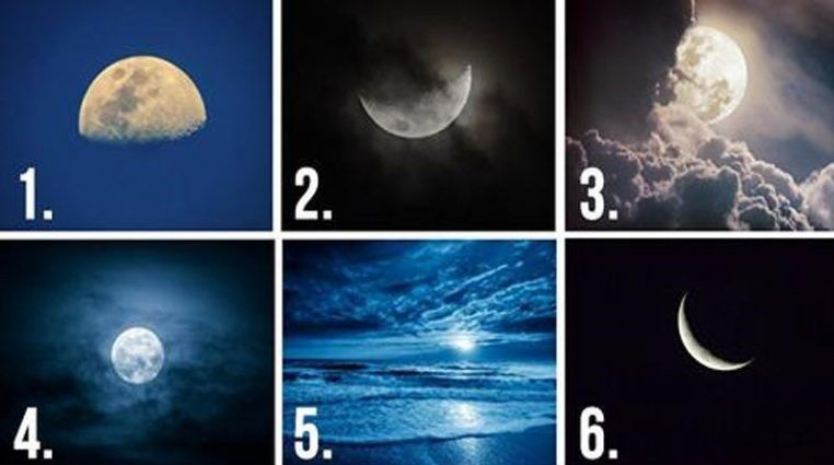 Pick A Moon, It Will Reveal Your Hidden Thoughts