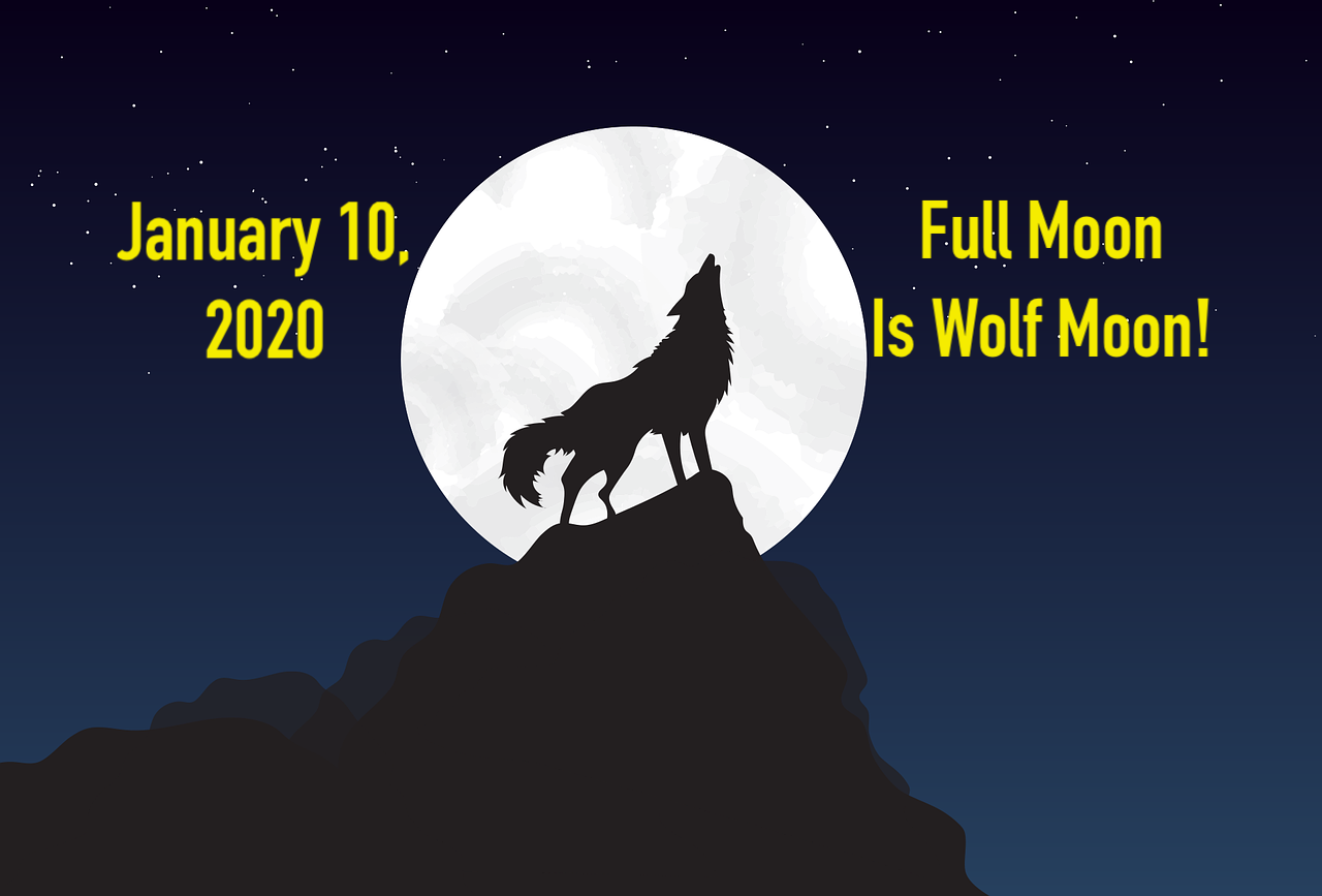 'Wolf Moon': First full moon of 2020 also coincides with lunar eclipse