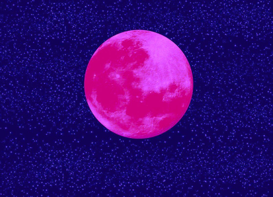 April 7, 2020, Pink Supermoon: The  Full Moon We Were Waiting For!
