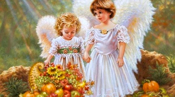 Say a Thanksgiving Prayer for Angels