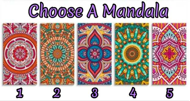 Select A Mandala And Discover The Strong Side Of Your Character