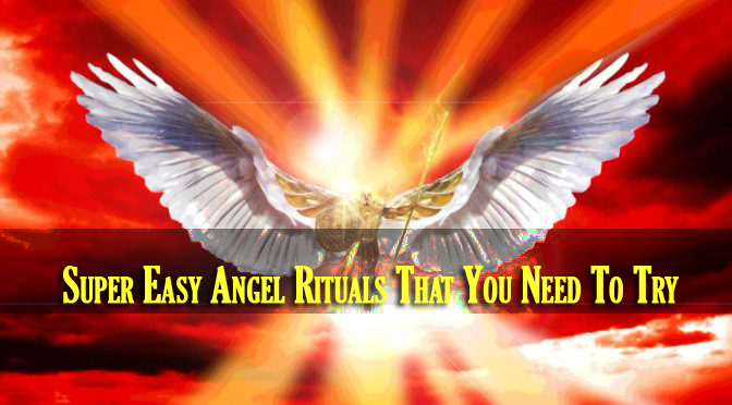 Super Easy Angel Rituals That You Need To Try