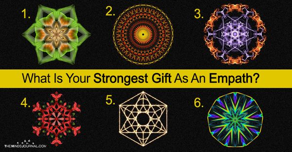 What Is Your Strongest Gift As An Empath? Choose A Circle Which Calls Out To You Most