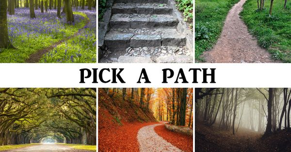 The Path You Pick Reveals Your Personality & Future