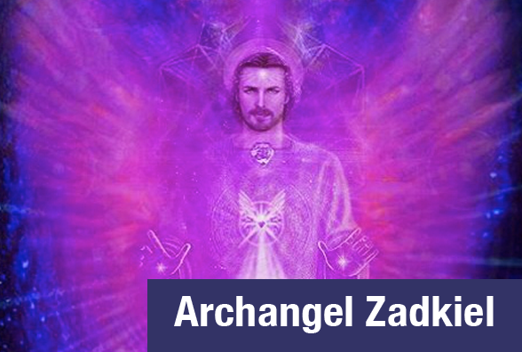 Connect with Archangel Zadkiel to bring blessings of the Divine into your life