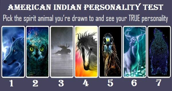American Indian Personality Test: Pick The Spirit Animal You're Drawn To And See Your True Personality