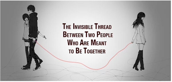 The Invisible Thread Between Two People Who Are Meant to Be Together